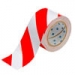 Floor Marking Tape - 50,8mm  Red and White Toughstripe Polyester